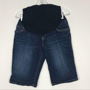 Indigo Blue Maternity Shorts